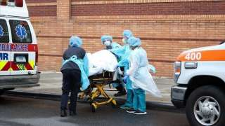 """الولايات المتحدة تسجل اعلى نسبة اصابات بـ""""كورونا"""" اليوم 58 ألفا حالة"""
