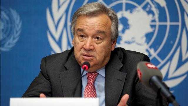 رسميًا.. أنطونيو جوتيريش أمينًا عامًا للأمم المتحدة لولاية ثانية