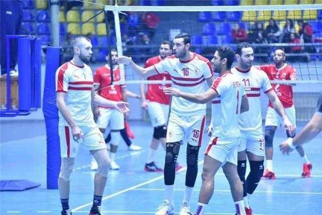 الزمالك يتوج بلقب كأس مصر للكرة الطائرة بعد الفوز على الأهلي