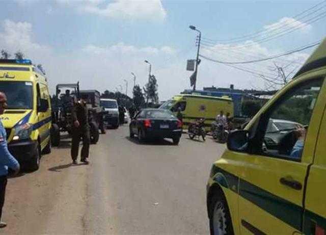 حادث بشع.. إصابة أسرة كاملة في انقلاب سيارة ملاكى بصحراوى البحيرة