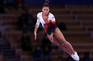 أولمبياد طوكيو.. ملك حمزة تودع منافسات جمباز الترامبولين