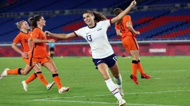 أولمبياد طوكيو.. سيدات أمريكا تهزم هولندا وتتأهل لقبل نهائي منافسات كرة القدم