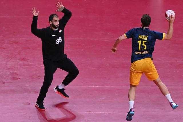 """السويد تهنئ منتخب اليد: أداء مبهر من """"هنداوى"""" ونحن نقاتل ولكن لا ننافس مصر"""