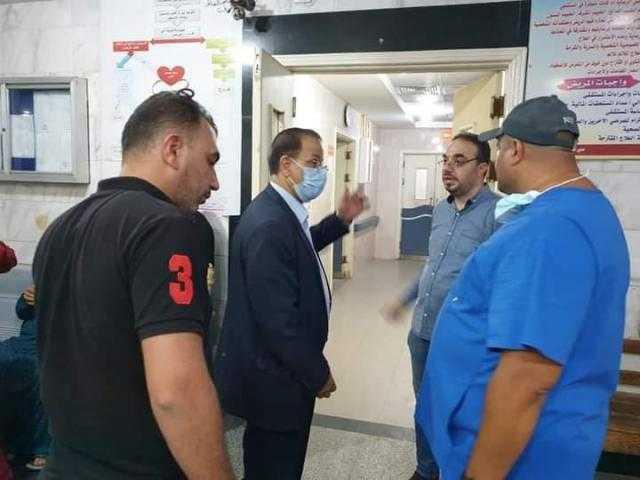 جولة مفاجئة.. إحالة 6 أطباء بمستشفى شبين القناطر المركزي للتحقيق.. صور