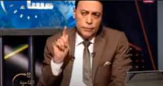 """بالفيديو.. تعليق قوي من الغيطي علي الألماظ الموجود علي بدلة الفنان """"خالد سليم"""""""