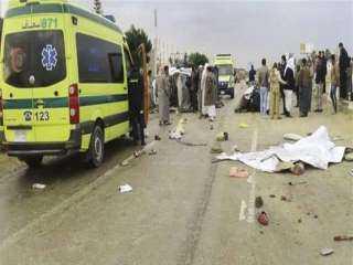 ارتفاع حصيلة ضحايا حادث نقل جهاز عروس سوهاج